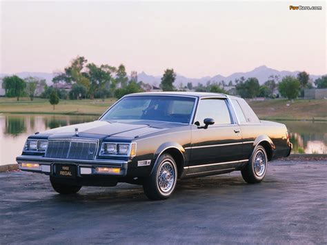 1982 Buick Regal by Buick Regal Limited Coupe 1982 Wallpapers 1024x768