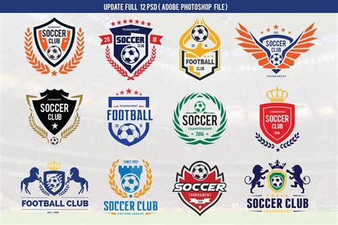Football Logo Set (vector+psd)