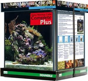 Dennerle Nano Cube 60 Complete Plus : dennerle nano cube marinus complete plus aquarium ~ Frokenaadalensverden.com Haus und Dekorationen
