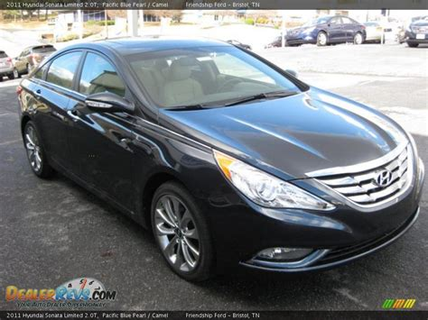 2011 Hyundai Sonata Limited 2 0t by Pacific Blue Pearl 2011 Hyundai Sonata Limited 2 0t Photo