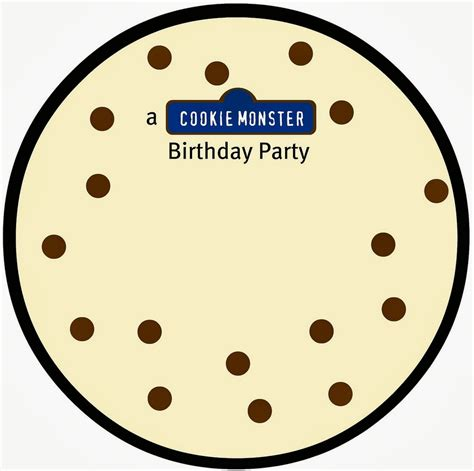 house  paint cookie monster invites