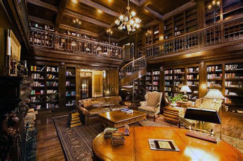 Home Library : Home Library Ideas For Men-private Reading Room Designs