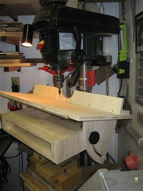 woodworking drill press modifications images