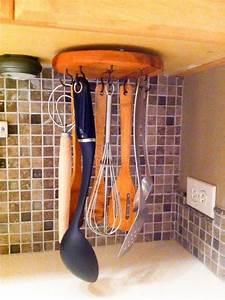 DIY Rotating Cooking Utensil Storage Rack Hometalk
