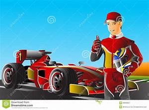 Pilote De Voiture : pilote de voiture de course illustration stock image 28909827 ~ Medecine-chirurgie-esthetiques.com Avis de Voitures