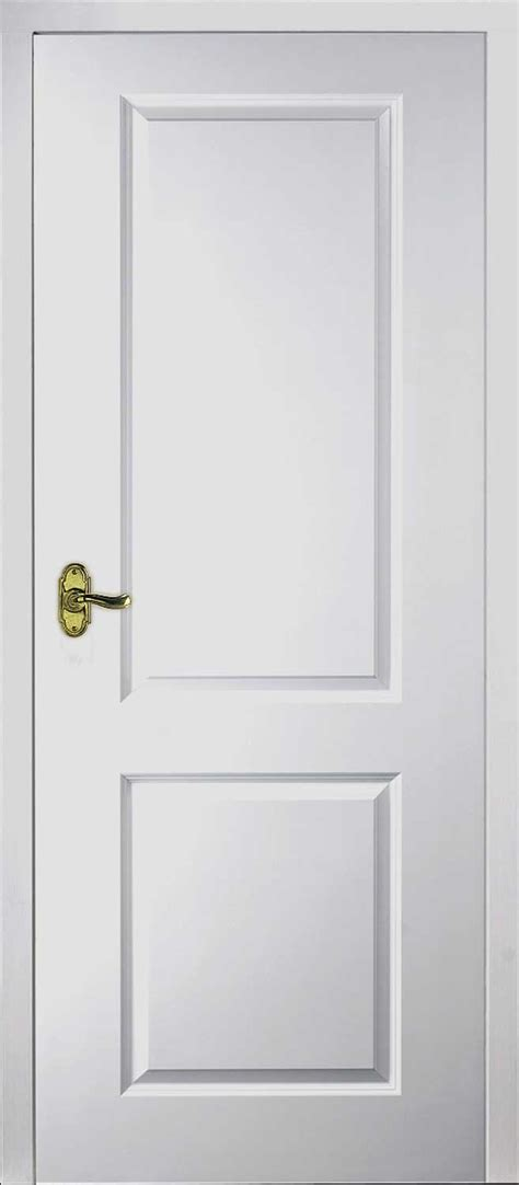 Inside Doors by Half Light Manhattan Smooth Moulded White Door