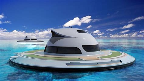 Flying Ufo Boat by Yacht House In The Form Of A Flying Saucer Quot Sits On The