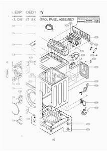 Lg Wm0642hw Parts List And Diagram  00