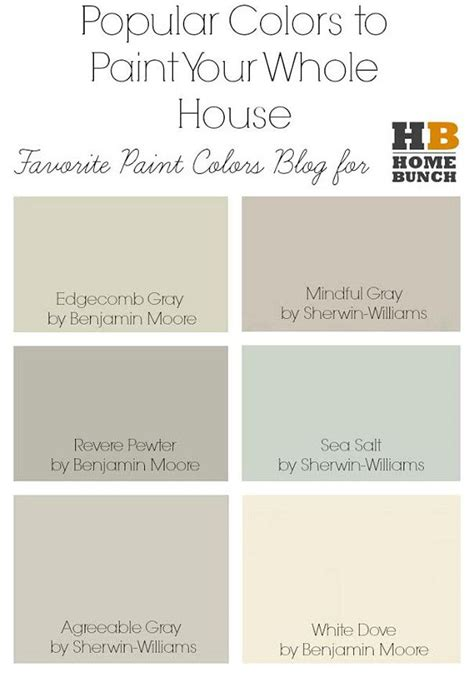 whole house paint color sherwin williams home painting