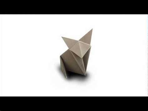 fold  origami cat fox youtube