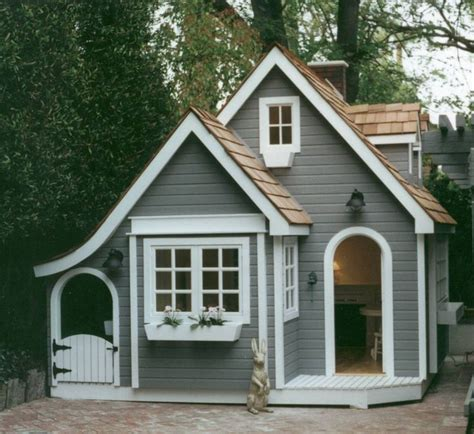 Backyard Cottage Playhouse - best 25 shed playhouse ideas on cave and