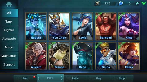 mobile legend characters mobile legends guide tips and tricks