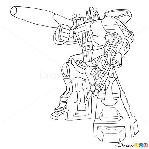 draw galvatron transformers