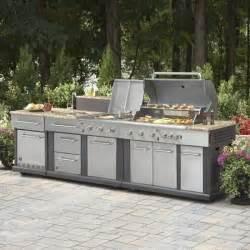 prefab kitchen islands master forge modular outdoor kitchen set lowe 39 s canada