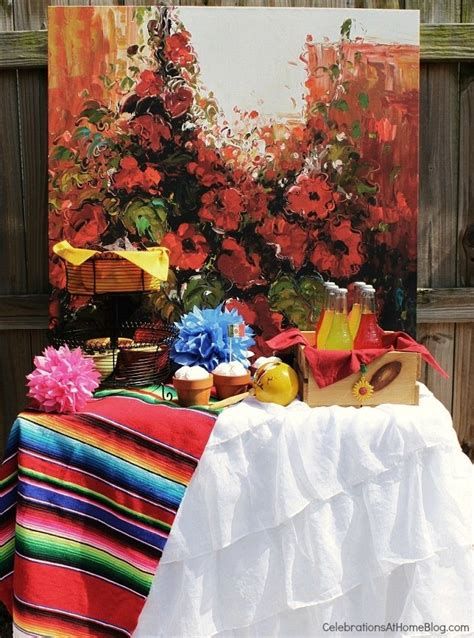 mexican fiesta party inspiration celebrations  home