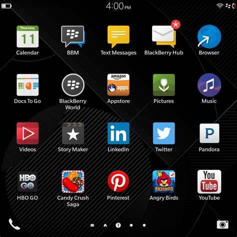 blackberry passport rocks tons of apps via the appstore inside blackberry