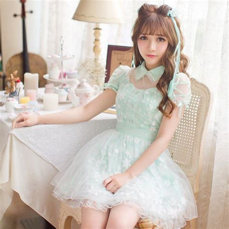 sweet bowknot chiffon flowers dress coupon code