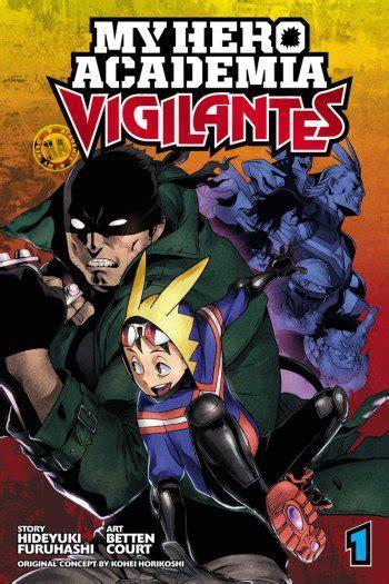 hero academia vigilantes manga anime planet