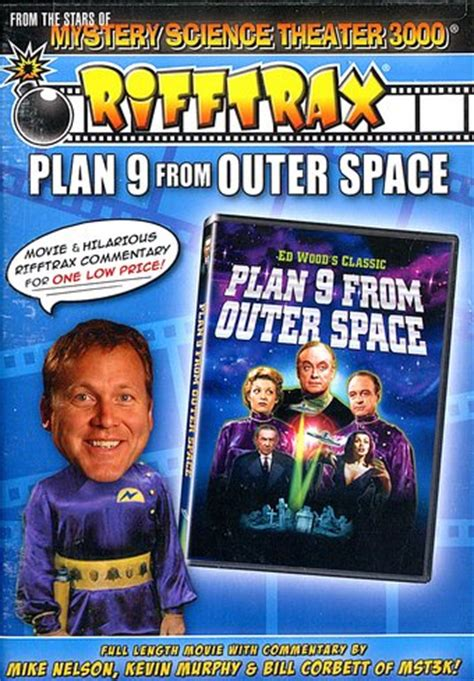Rifftrax - Plan 9 From Outer Space DVD (1959) - Legend ...