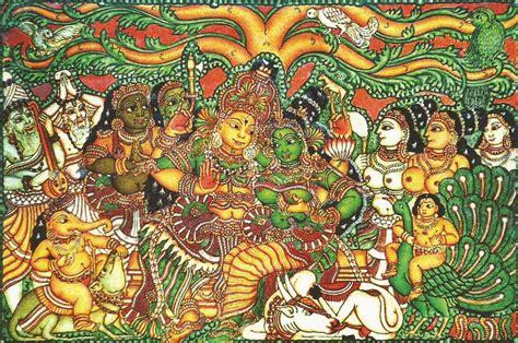 indian art  craft kerala murals atyutka art  craft
