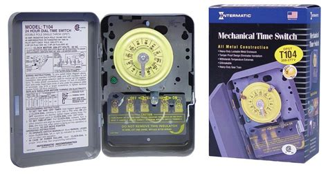 Intermatic Heavy Duty Timer Dpst For Load