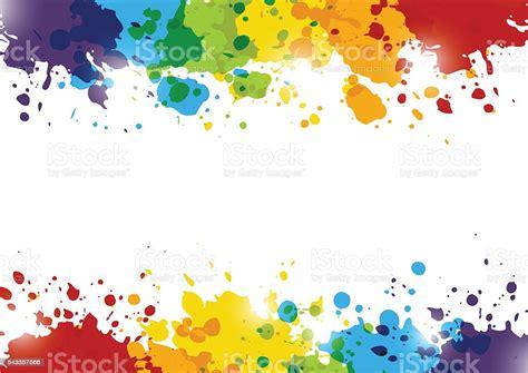 arcobaleno astratto sfondo  schizzi  vernice