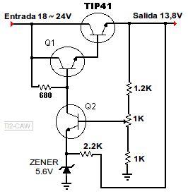 diagrama de regulador 13 8v electronic electronics projects arduino and circuit