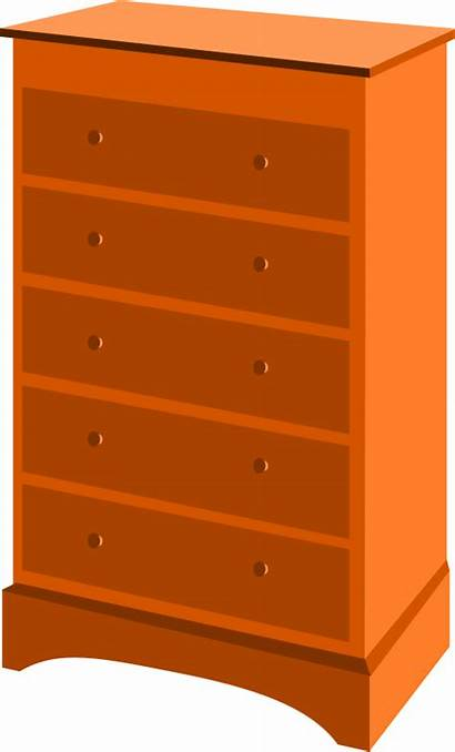 Clipart Chest Drawers Drawer Transparent Library Tuhin