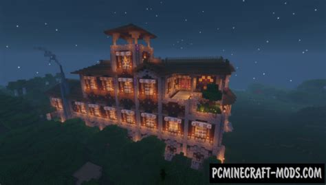 woodland mansion transformation map  minecraft   pc java mods