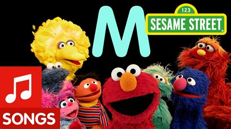 elmo letter of the day song sesame letter m letter of the day