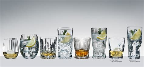 Riedel's Barware Collection