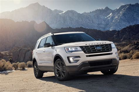 2017 Ford Explorer Sport by 2017 Ford Explorer Xlt Sport Appearance Package To Bow In