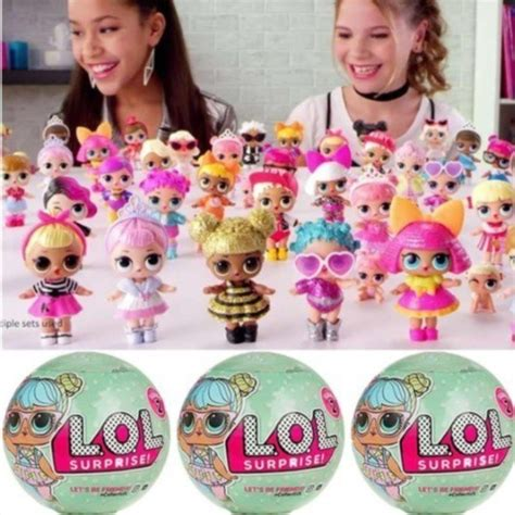 lol surprise glitter series big sister tots doll ball