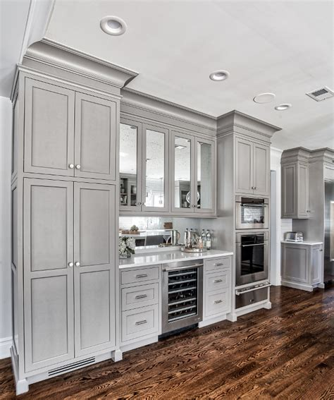 kitchen cabinets for built in appliances grey kitchen design home bunch interior design ideas