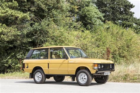 classic land rover colin chapman 39 s range rover classic