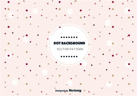 cute dot background vector   vector art