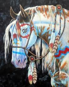 Native American Indian War Ponies
