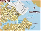 Map of Annapolis