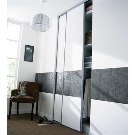 deco porte de chambre portes de placard coulissantes kraft 250 x 120 castorama