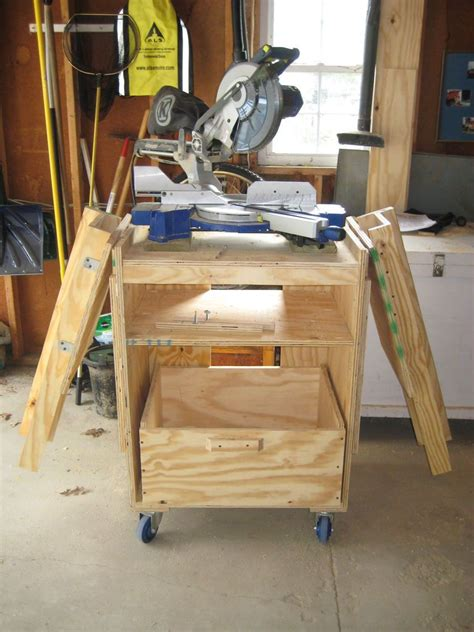 miter  station rolling table woodworking  wood