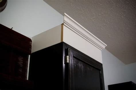 installing mold cabinets installing cabinet molding