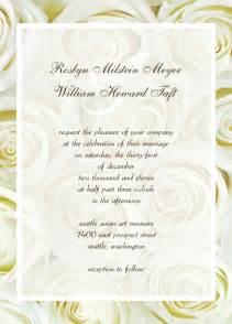 Wedding Anniversary Invitation Templates Free