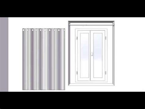 comment poser un rideau sur une porte d entr 233 e la