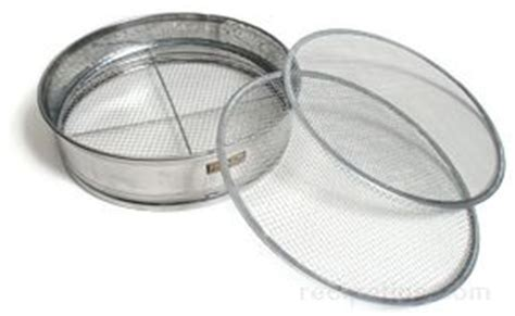 Kitchen Equipment Glossary by Drum Sieve Definition And Cooking Information