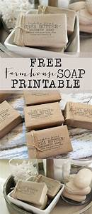 free farmhouse soap printable house of hargrove With homemade soap labels free