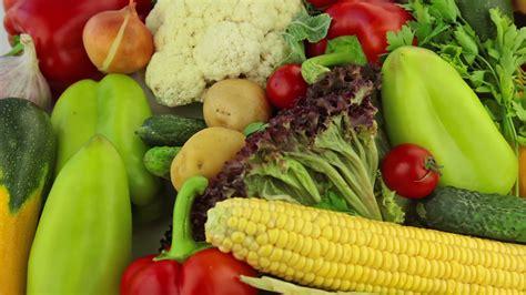 Different vegetables Stock Video Footage - Storyblocks
