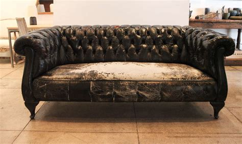 chesterfield leather sofa black leather chesterfield sofa circa 1930 at 1stdibs