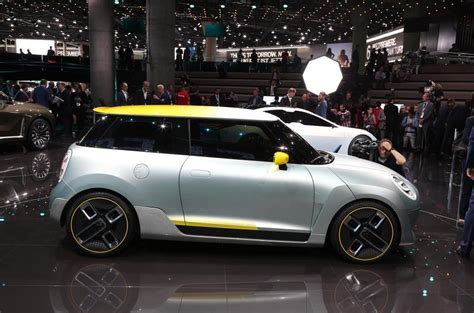 Mini Unveils Concept Of First Fullproduction Electric Car