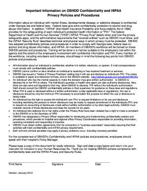 fillable  hipaa employee acknowledgement form fax
