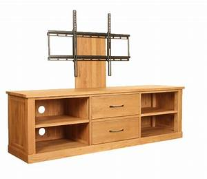 Baumhaus Mobel Contemporary Oak Mounted Widescreen